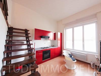 STUDIO A LOUER - LILLE MOULINS - 18 m2 - 426 € charges comprises par mois