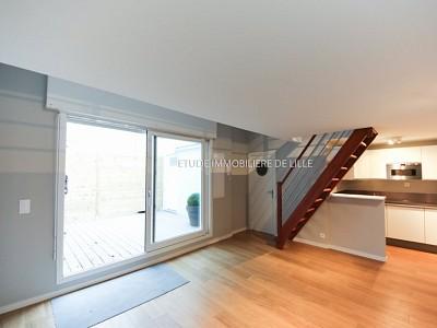 APPARTEMENT T2 A LOUER - LILLE CORMONTAIGNE - 22,58 m2 - 695 € charges comprises par mois