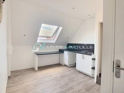 STUDIO A VENDRE - LILLE CORMONTAIGNE - 11,07 m2 - 66000 €
