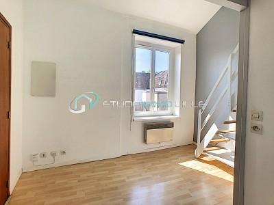 STUDIO A LOUER - LILLE CORMONTAIGNE - 17,29 m2 - 440 € charges comprises par mois