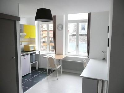 STUDIO A LOUER - LILLE SEBASTOPOL - 18,42 m2 - 470 € charges comprises par mois
