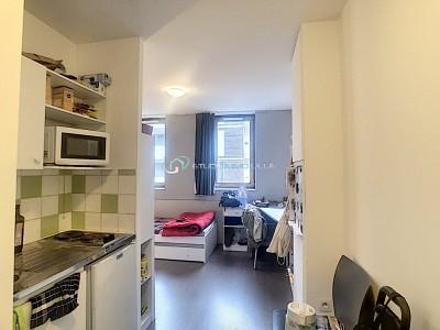 STUDIO A VENDRE - CROIX - 17,84 m2 - 71000 €