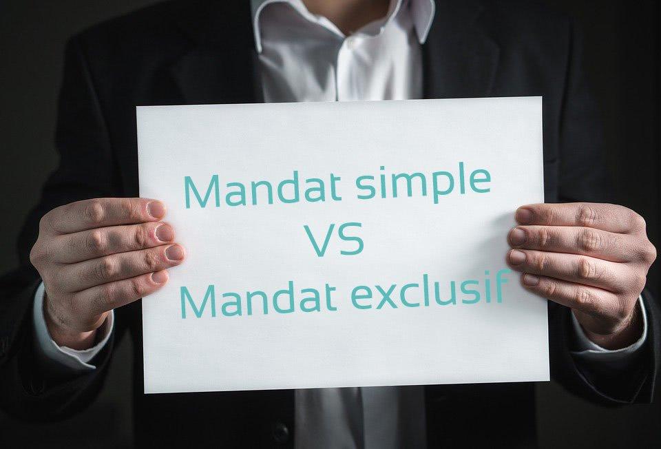 Mandat simple VS Mandat exclusif